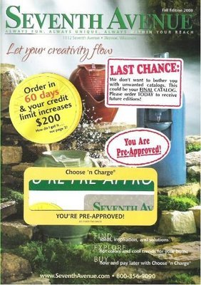 Seventh Avenue / Let Your Creativity Flow / Fall Edition | Catalog (2008)