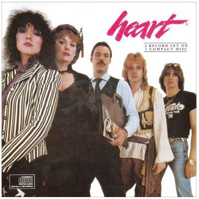 Heart / Greatest Hits - Live / Epic 36888-2   CD Booklet (1990)