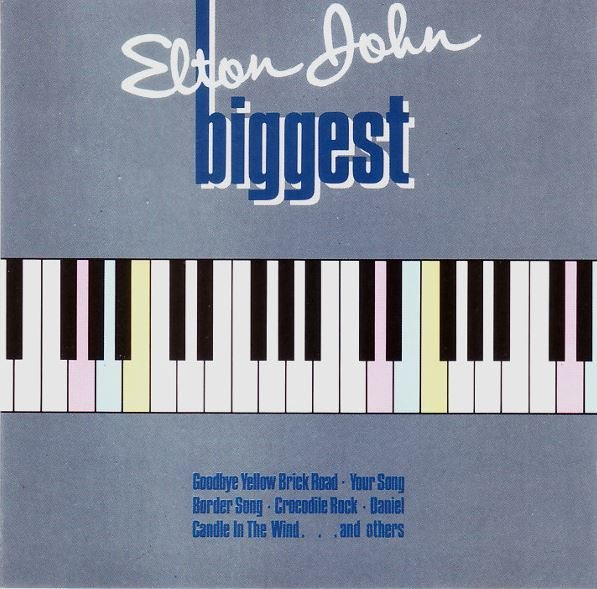John, Elton / Biggest / DJM 825 173-2 / Germany | CD Booklet (1985)