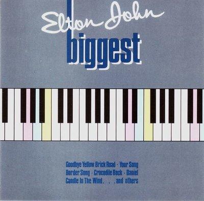 John, Elton / Biggest / DJM 825 173-2 / Germany   CD Booklet (1985)