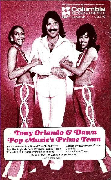 Orlando, Tony (+ Dawn) / Columbia Record + Tape Club / July | Catalog (1975)