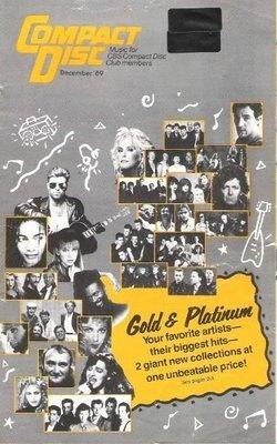 Various Artists / Compact Disc / Gold + Platinum / December | Catalog (1989)