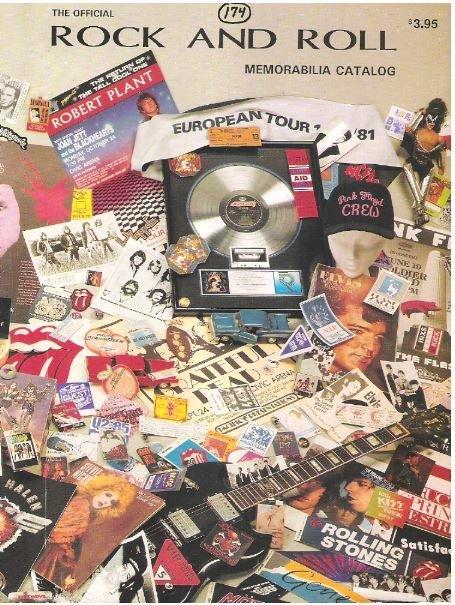 Smith, Michael Valentine / The Official Rock and Roll Memorabilia Catalog | Catalog (1991)