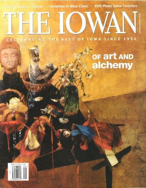 Iowan, The / Of Art and Alchemy / January - February | Magazine (2009)