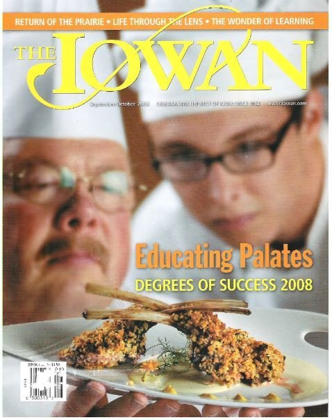 Iowan, The / Educating Palates / September - October | Magazine (2008)