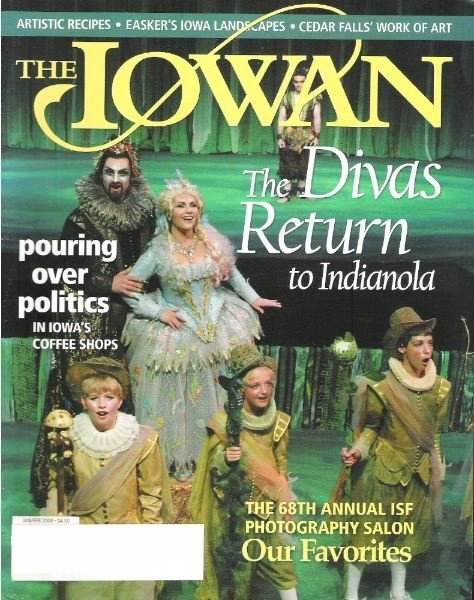 Iowan, The / The Divas Return to Indianola / January - February | Magazine (2008)