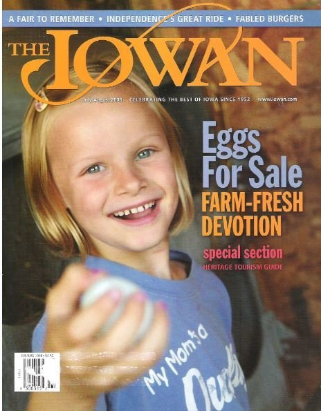 Iowan, The / Eggs For Sale / July - August | Magazine (2008)