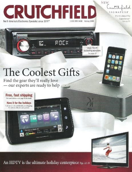 Crutchfield / The Coolest Gifts / Holiday | Catalog (2009)