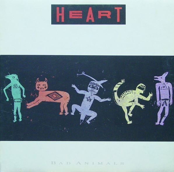 Heart / Bad Animals / Capitol PJ-12546 | Twelve Inch Vinyl Album (1987)
