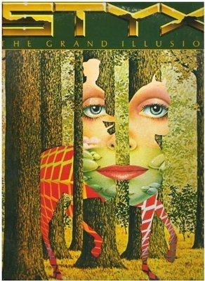 Styx / The Grand Illusion / A+M SP-4637 | Twelve Inch Vinyl Album (1977)