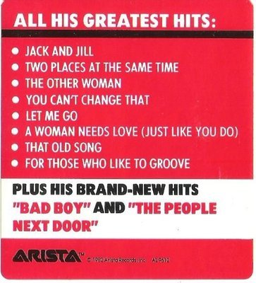 Parker, Ray (Jr.) / Greatest Hits / Arista AL-9612 | Sticker (1982)