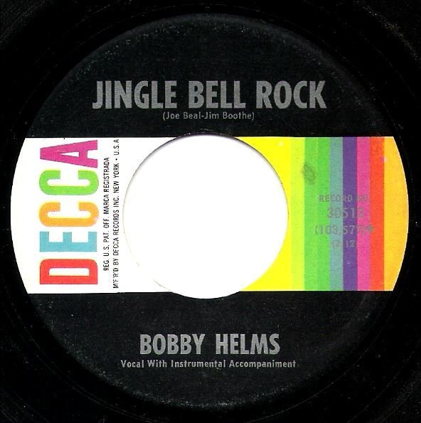 Helms, Bobby / Jingle Bell Rock / Decca 30513 | Seven Inch Vinyl Single (1957)