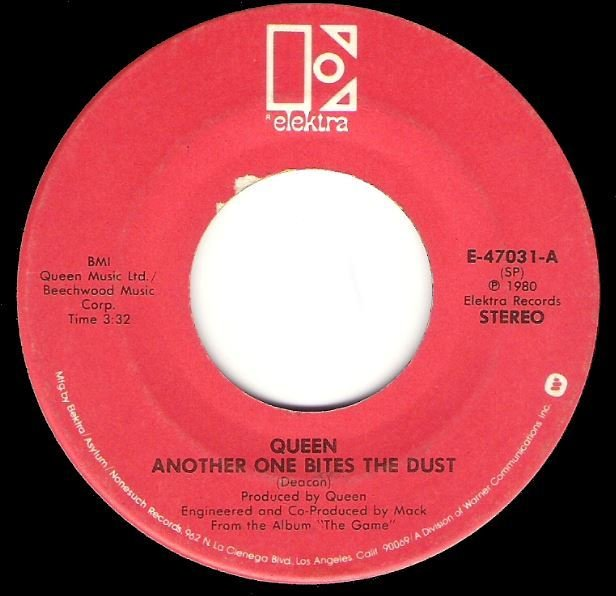 Queen / Another One Bites the Dust / Elektra E-47031 | Seven Inch Vinyl Single (1980)