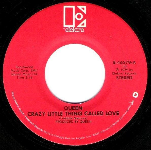 Queen / Crazy Little Thing Called Love / Elektra E-46579 | Seven Inch Vinyl Single (1979)