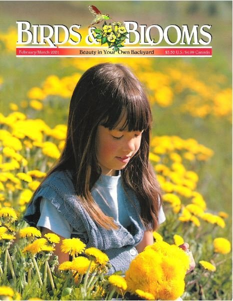 Birds + Blooms / Vol. 7, No. 1 / February - March | Magazine (2001)