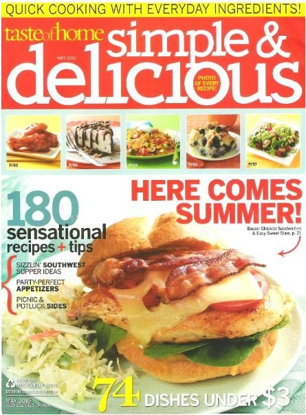 Simple + Delicious / Here Comes Summer! / May | Magazine (2010)