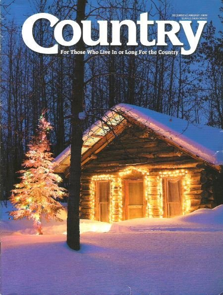 Country / Historic Cabin in Wiseman, Alaska / December - January | Magazine (2009)