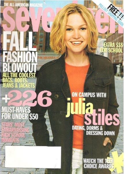 Seventeen / Julia Stiles - September | Magazine (2002)
