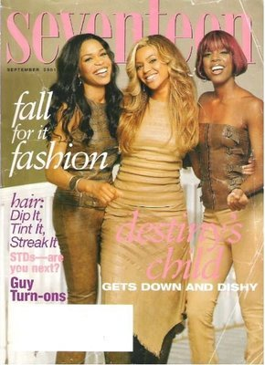 Seventeen / Destiny's Child / Fall for it Fashion / September | Magazine (2001)