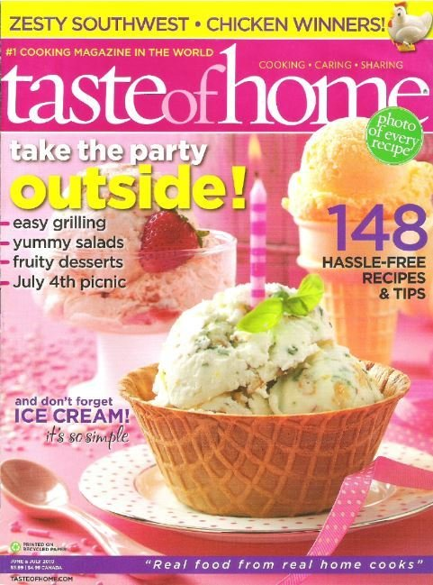 Taste of Home / Take the Party Outside! / June - July | Magazine (2010)