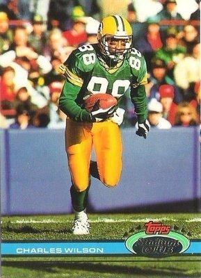 Wilson, Charles / Green Bay Packers / Stadium Club (Topps) No. 47   Football Trading Card (1991)