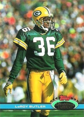 Butler, LeRoy / Green Bay Packers / Stadium Club (Topps) No. 248   Football Trading Card (1991)