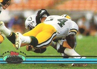 Stephen, Scott / Green Bay Packers / Stadium Club (Topps) No. 222   Football Trading Card (1991)