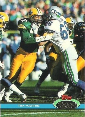 Harris, Tim / Green Bay Packers / Stadium Club (Topps) No. 285   Football Trading Card (1991)