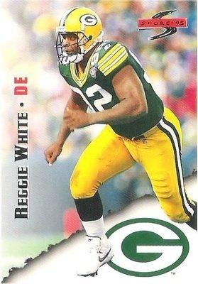 White, Reggie / Green Bay Packers / Score No. 13   Football Trading Card (1995)