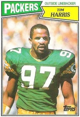 Harris, Tim / Green Bay Packers / Topps No. 358 / Rookie Card   Football Trading Card (1987)