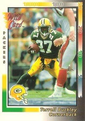 Buckley, Terrell / Green Bay Packers / Wild Card No. 413   Football Trading Card (1992)
