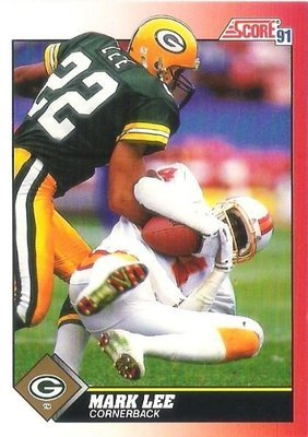 Lee, Mark / Green Bay Packers / Score No. 122 | Football Trading Card (1991)