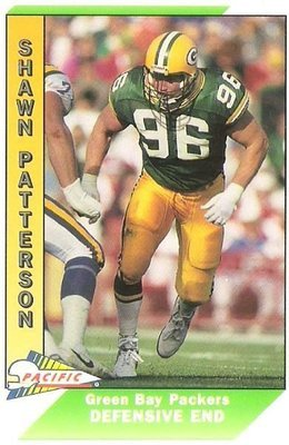 Patterson, Shawn / Green Bay Packers / Pacific No. 164 | Football Trading Card (1991) / Rookie Card