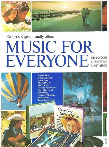 Reader's Digest / Music For Everyone | Catalog (1973)