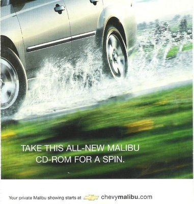 Chevy Malibu / Take This All-New Malibu CD-Rom for a Spin | CD-Rom (2003)