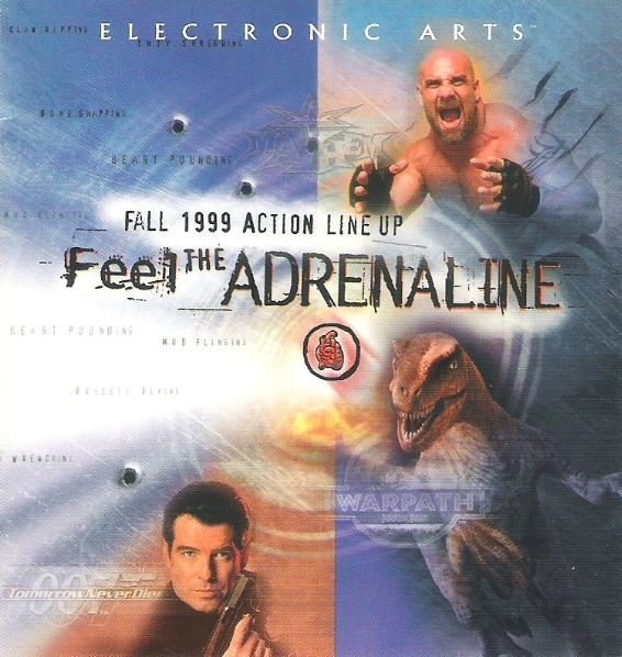 Electronic Arts / Feel the Adrenaline - Fall 1999 Action Lineup | Promo Booklet (1999)