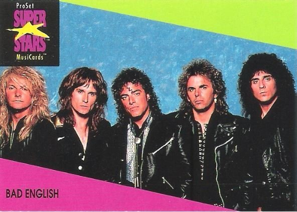 Bad English / ProSet SuperStars MusiCards #32 | Music Trading Card (1991)
