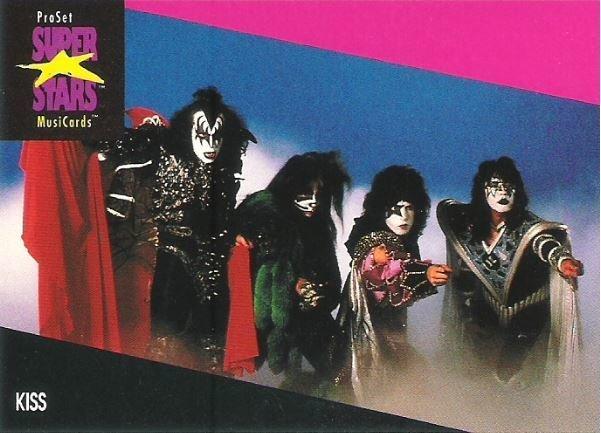 Kiss / ProSet SuperStars MusiCards #197 | Music Trading Card (1991)