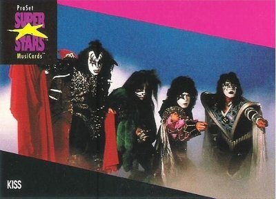 Kiss / ProSet SuperStars MusiCards #197 | Music Trading Card (1991)