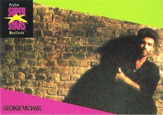 Michael, George / ProSet SuperStars MusiCards #75   Music Trading Card (1991)