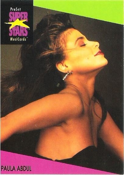 Abdul, Paula / ProSet SuperStars MusiCards #26 | Music Trading Card (1991)
