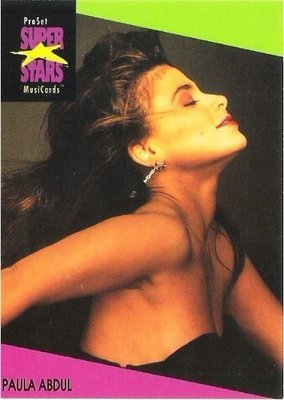 Abdul, Paula / ProSet SuperStars MusiCards #26 | Music Trading Card (1991)