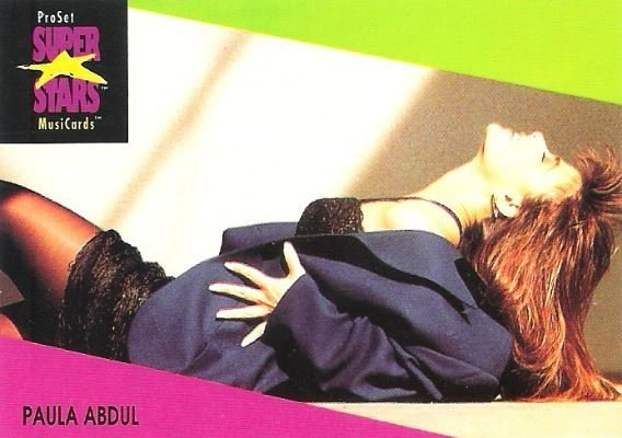 Abdul, Paula / ProSet SuperStars MusiCards #28 | Music Trading Card (1991)