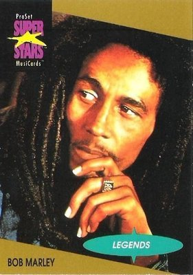 Marley, Bob / ProSet SuperStars MusiCards #16 / Legends | Music Trading Card (1991)