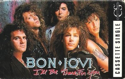 Bon Jovi / I'll Be There For You / Mercury 872 564-4 | Cassette Single (1989)