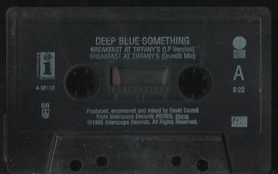 Deep Blue Something / Breakfast At Tiffany's / Interscope 4-98138 | Cassette Single (1995)