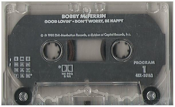 McFerrin, Bobby / Good Lovin' / EMI Manhattan 4BX-50163 | Cassette Single (1988)