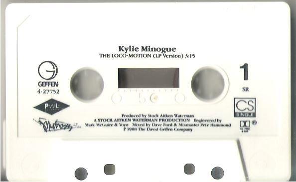 Minogue, Kylie / The Loco-Motion / Geffen 4-27752 | Cassette Single (1988)
