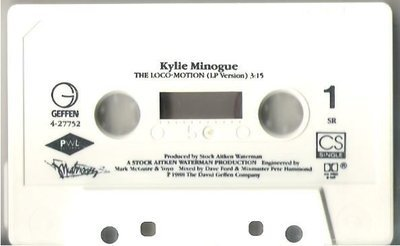 Minogue, Kylie / The Loco-Motion / Geffen 4-27752 | Cassette Single (1988)