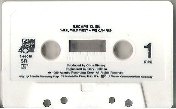 Escape Club / Wild, Wild West / Atlantic 4-89048 | Cassette Single (1988)